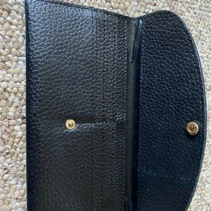 None Bags - Black Leather Wallet